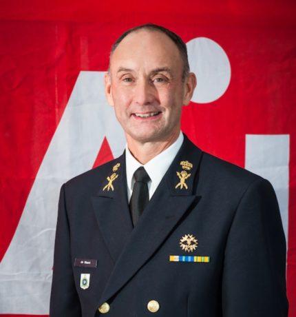 Portretfoto van Directeur Defensie Materiaal Organisatie