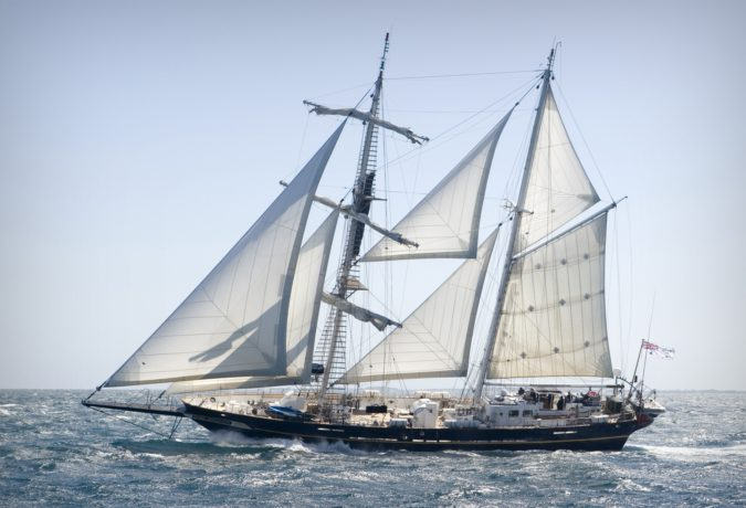 Sail training schip Young Endeavour