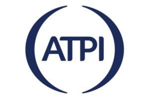 Blauw ATPI logo