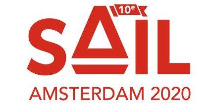 Rode Logo SAIL Amsterdam 10e Editie